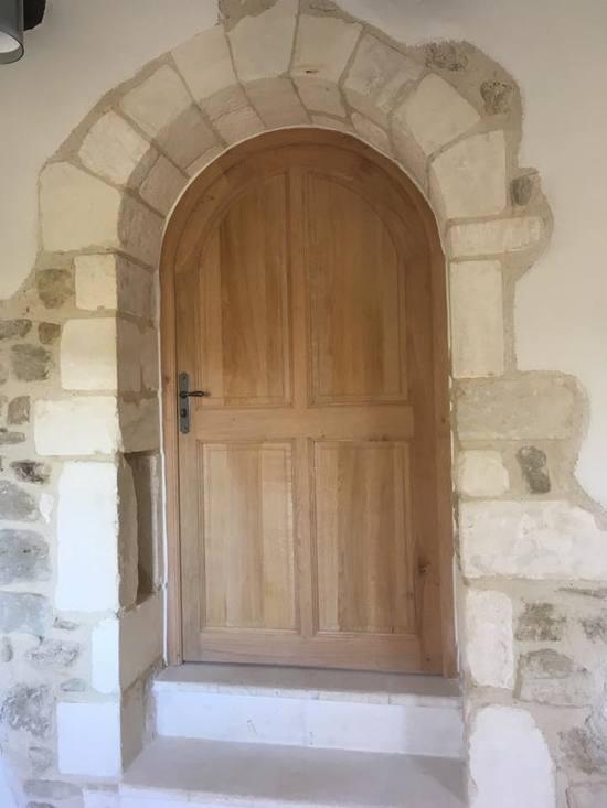 Réalisation d'une porte