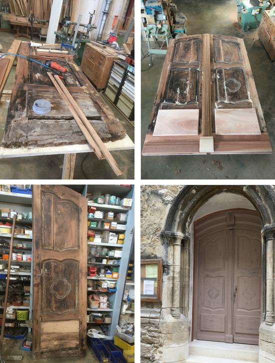 Restauration d'une porte